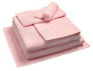 Nord dusjhåndkle egyptisk bomull 50x70 cm lys rosa