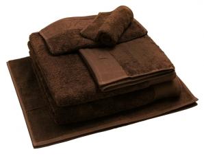 Nord dusjhåndkle egyptisk bomull 50x70 cm brunt