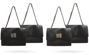 Iconic Maxi Genuine Leather Shoulder Bag Customized