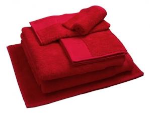 Nord dusjhåndkle egyptisk bomull 50x70 cm rødt