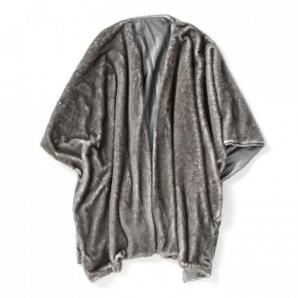 Artic poncho grå