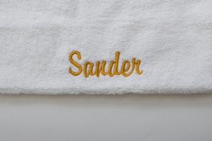 Nord dusjhåndkle egyptisk bomull 70x140 cm hvitt