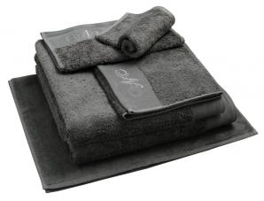 Nord gjestehåndkle egyptisk bomull 30x50 cm mørk grå