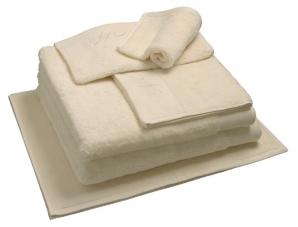 Nord dusjhåndkle egyptisk bomull 50x70 cm krem