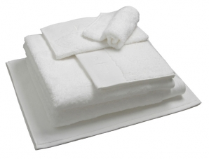 Nord dusjhåndkle egyptisk bomull 50x70 cm hvitt