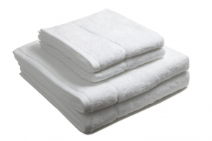 4 stk Nord 1 håndkle hvit 50x70 cm