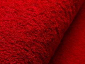 Badematte rødt