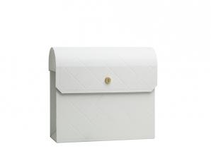 Postkasse hvit