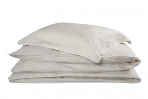 Nord rosedamask sengetøy krem 140x220 cm/50x70 cm