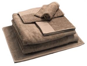 Nord dusjhåndkle egyptisk bomull 50x70 cm sand