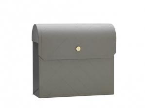 Postkasse grå
