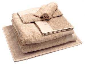 Nord dusjhåndkle egyptisk bomull 50x70 cm beige